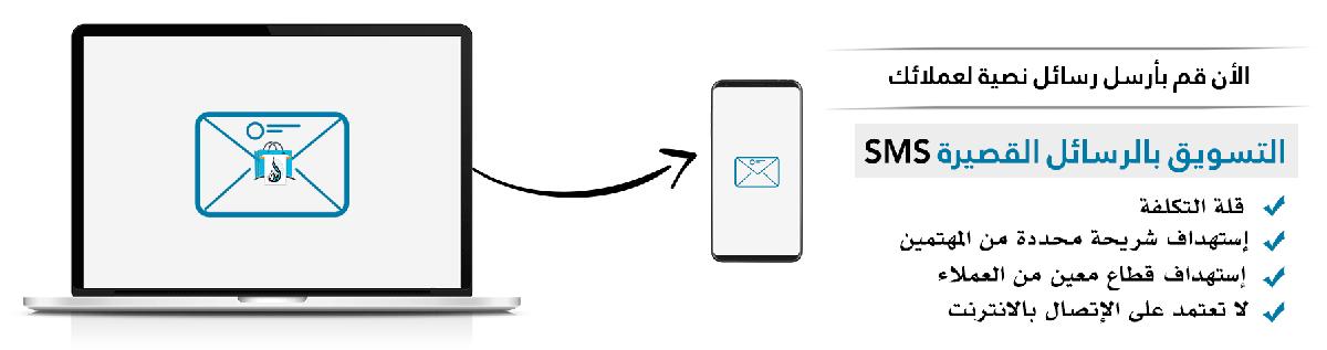 التسويق بالرسائل القصيرة SMS | برنامج البدر للمبيعات